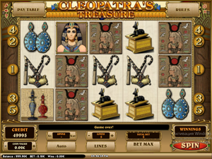 Cleopatra's Treasure screenshot